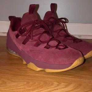 Nike LeBron 13 Lows Team Red Gum